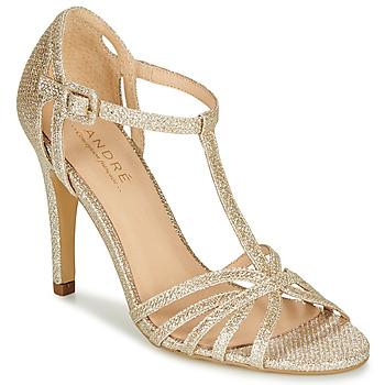 Chaussures Femme Escarpins André JOY Doré