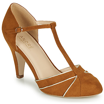 Chaussures Femme Escarpins André JULIETTE Camel