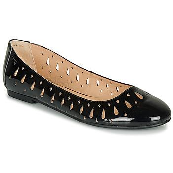 Chaussures Femme Ballerines / babies André JENNY NOIR VERNIS