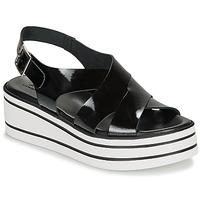 Chaussures Femme Sandales et Nu-pieds André ELVIA Noir
