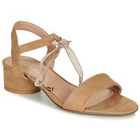 Chaussures Femme Sandales et Nu-pieds André PAULENE Beige