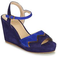 Chaussures Femme Sandales et Nu-pieds André LA JONGLEUSE Bleu