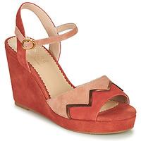 Chaussures Femme Sandales et Nu-pieds André LA JONGLEUSE Rose