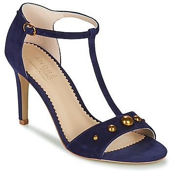Chaussures Femme Sandales et Nu-pieds André LA DOMPTEUSE Bleu