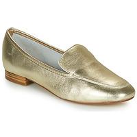 Chaussures Femme Mocassins André JAELLE Doré