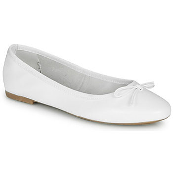 Chaussures Femme Ballerines / babies André PIETRA Blanc