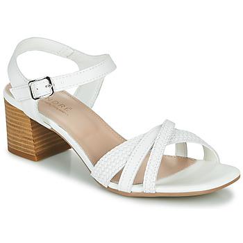 Chaussures Femme Sandales et Nu-pieds André MARJOLAINE Blanc