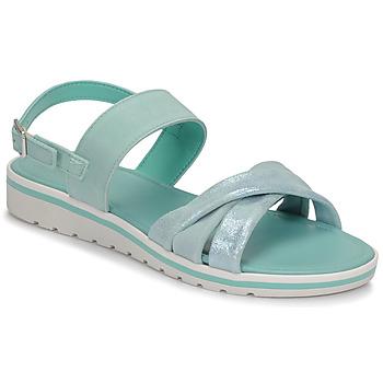 Chaussures Femme Sandales et Nu-pieds André POLINE Bleu