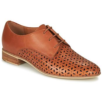Chaussures Femme Derbies André BARNA Camel