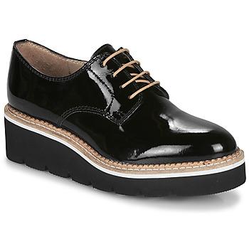 Chaussures Femme Derbies André EMELINA NOIR VERNIS