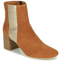 Chaussures Femme Bottines André BONNIE Camel