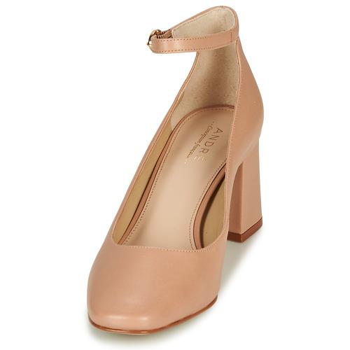Parfait Recommander Une Réduction Chaussures André JASMINE Nude Chaussure pas cher avec HQ0Ry