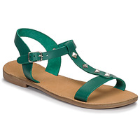 Chaussures Femme Sandales et Nu-pieds André DOMINOU Vert