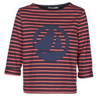 Vêtements Femme Tops / Blouses Petit Bateau  Rouge / Marine