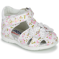 Chaussures Fille Sandales et Nu-pieds Primigi 5401300 Blanc / Rose