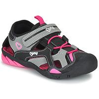 Chaussures Fille Sandales sport Primigi 5460011 Noir / Rose