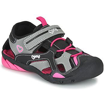 Chaussures Fille Sandales sport Primigi  Noir / Rose