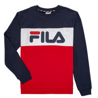 Vêtements Enfant Sweats Fila FELIX Marine / Rouge