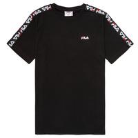 Vêtements Enfant T-shirts manches courtes Fila FREDDY Noir