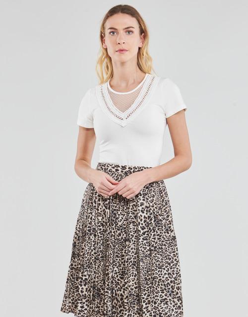 Vêtements Femme Tops / Blouses Moony Mood DALINA Blanc