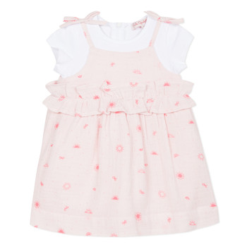 Vêtements Fille Robes courtes Lili Gaufrette NAZETTE Rose