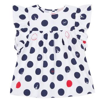 Vêtements Fille Tops / Blouses Lili Gaufrette COLINE Blanc