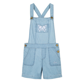 Vêtements Fille Combinaisons / Salopettes Lili Gaufrette NANYSSE Bleu