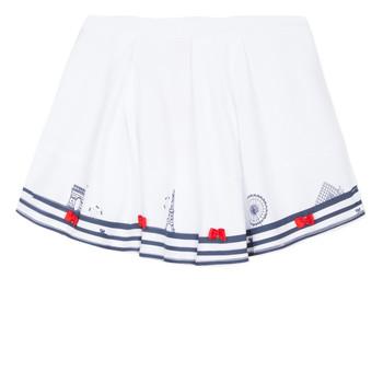 Vêtements Fille Jupes Lili Gaufrette BELINDA Blanc