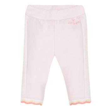 Vêtements Fille Pantalons 5 poches Lili Gaufrette DIM. Rose