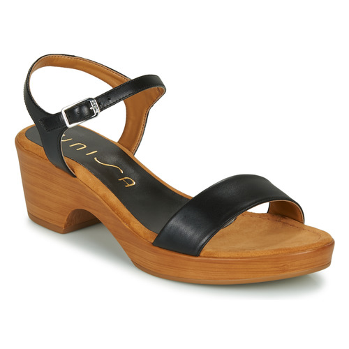 Chaussures Femme Sandales et Nu-pieds Unisa IRITA Noir