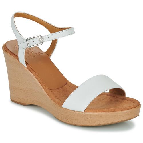 Chaussures Femme Sandales et Nu-pieds Unisa RITA Blanc