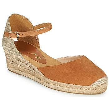 Chaussures Femme Sandales et Nu-pieds Unisa CISCA Camel