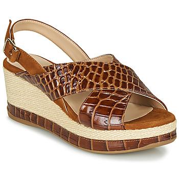 Chaussures Femme Sandales et Nu-pieds Unisa KASTRO Camel
