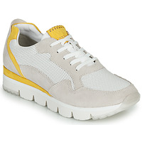 Chaussures Femme Baskets basses Marco Tozzi 2-23754 Blanc / Jaune