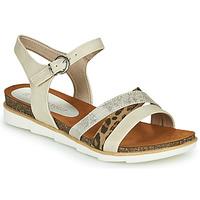 Chaussures Femme Sandales et Nu-pieds Marco Tozzi 2-28410 Beige