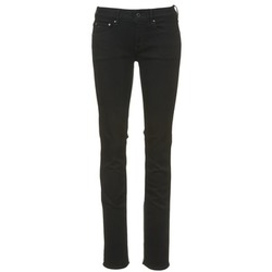 Vêtements Femme Jeans droit G-Star Raw ATTACC MID STRAIGHT Noir