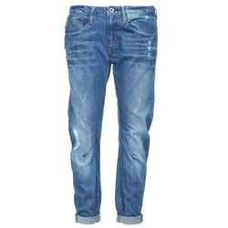 Vêtements Femme Jeans boyfriend G-Star Raw ARC 3D LOW BOYFRIEND Watton Denim Medium Aged Destroy