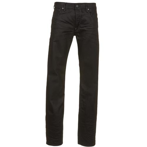 Vêtements Homme Jeans droit G-Star Raw ATTAC STRAIGHT Noir