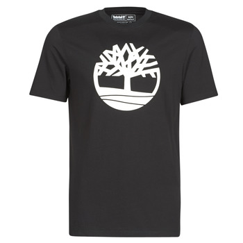 Vêtements Homme T-shirts manches courtes Timberland SS KENNEBEC RIVER BRAND TREE TEE Noir