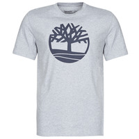 Vêtements Homme T-shirts manches courtes Timberland SS KENNEBEC RIVER BRAND TREE TEE Gris