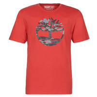 Vêtements Homme T-shirts manches courtes Timberland SS KENNEBEC RIVER CAMO TREE TEE Rouge