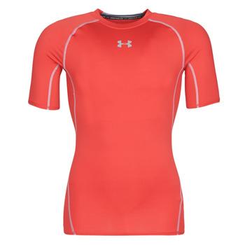 Vêtements Homme T-shirts manches courtes Under Armour UA HEATGEAR ARMOUR Rouge