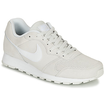 Chaussures Homme Baskets basses Nike MD RUNNER 2 SUEDE Gris / Blanc