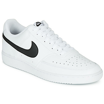 Chaussures Homme Baskets basses Nike COURT VISION LOW Blanc / Noir
