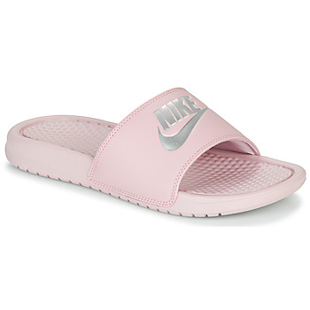 Chaussures Femme Claquettes Nike BENASSI JUST DO IT Violet