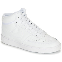 Chaussures Femme Baskets montantes Nike COURT VISION MID Blanc