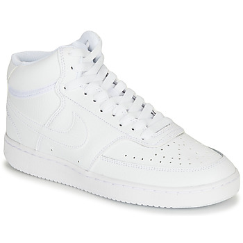 Chaussures Femme Baskets basses Nike COURT VISION MID Blanc