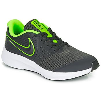 Chaussures Garçon Multisport Nike STAR RUNNER 2 GS Noir / Vert