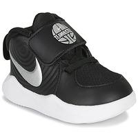 Chaussures Enfant Multisport Nike TEAM HUSTLE D 9 TD Noir / Argenté