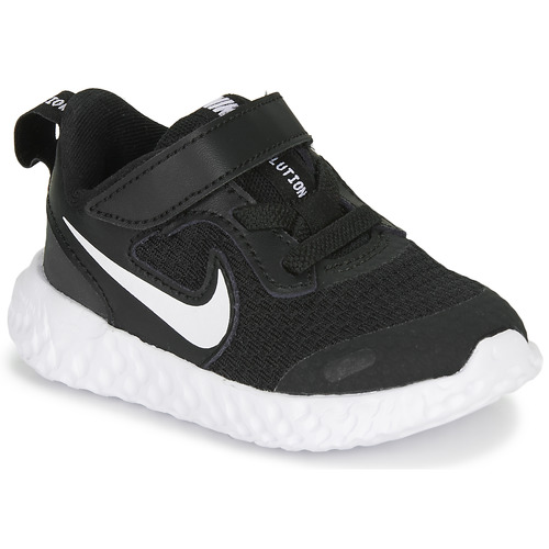 Chaussures Enfant Multisport Nike REVOLUTION 5 TD Noir / Blanc